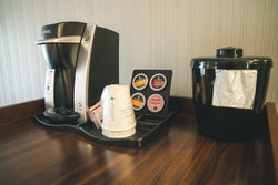 Guest Room Keurig Coffee