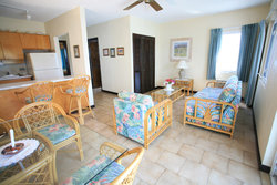 Timothy Beach Resort One Bedroom Suite Living Area