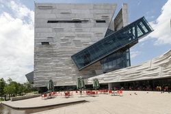 The Perot Museum Of Nature And Science In Dallas, Texas