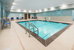 Heated indoor pool at Holiday Inn Express & Suites West Plains, MO