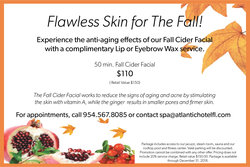 Fall Cider Facial