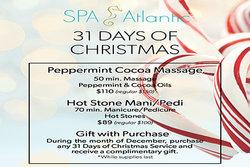 Spa Atlantic Winter Promotion