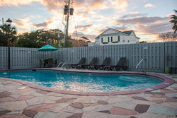 Outdoor Pool at Sunset