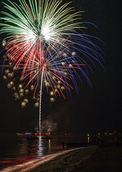 Fireworks - July 3rd Every Year in Oxford, Maryland
