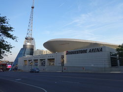 Bridgestone Arena North Face