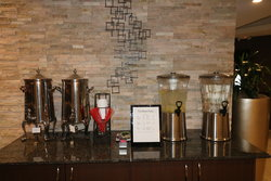 Hours Coffee Station In Lobby