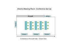 Atlantic Conference Set Up Th Floor