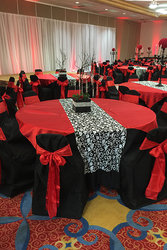 Reception with Ballroom Tables