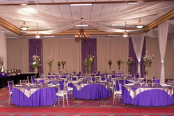 Event Space in Ballroom Setup