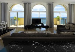 Phof Bedroom O Ceanfront Penthouse Suite Living Room