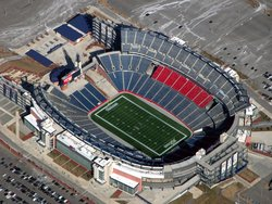 Gillette Stadium Top View