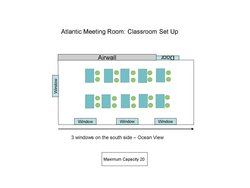 Atlantic Classroom Set Up Th Floor