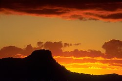 Thumb Butte Sunset