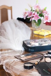 Makeup Wedding Bridal Before