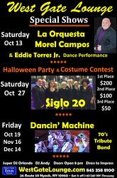 Oct 2018 special events