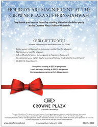 Crowne Plaza Holiday Party Offer