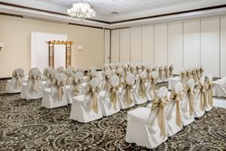 You can have your wedding service in our convention center
