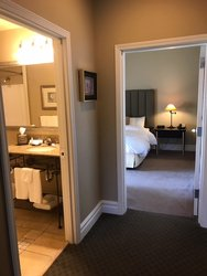 2 Bedroom Suite - Hallway and Bathroom