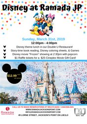 Disney Event Flyer March ,