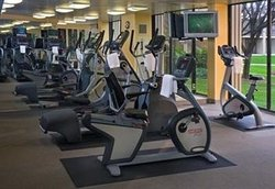 Fitness Center Ellipticals and Bikes