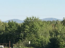 View Of Cadillac Mtn From The Motel