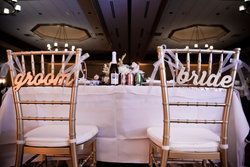 Grand Ballroom Wedding Head Table