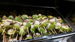 Kabobs on the BBQ