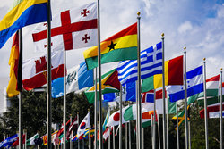 Flags At Lynn University
