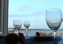 Wineglasses and Water View