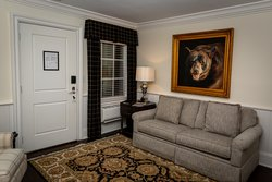 Couch Seating In Living Space Of Suite
