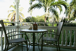 Royal Poinciana Suite Patio