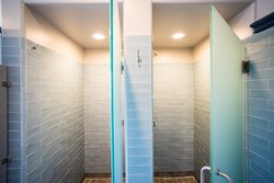 Shared Bathroom Shower Stalls