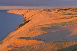 Sunset At Grand Sable Dunes, Pictured Rocks