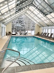 Pool in the Winter
