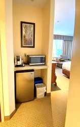 Micro Wave And Fridge in Suite 180