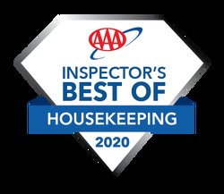 2020 AAA Inspectors Best Of Housekeeping Award
