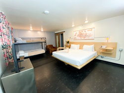 Standard Room with 1 King + Bunkbed Room