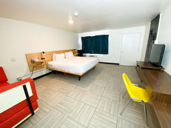 Standard Room with 1 King Bed + Daybed (Dogs OK) Bedroom2
