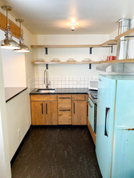 Studio Kitchenette with 1 King Bed + Bunkbed (No Pets) Kitchenette
