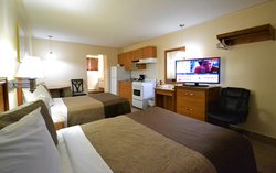 Double Bed with Kitchen