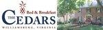 The Cedars of Williamsburg Bed & Breakfast Logo