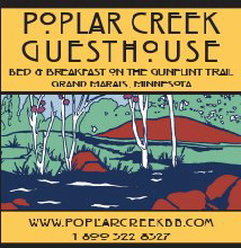 Poplar Creek Guesthouse B&B and Cabin Logo
