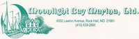 Moonlight Bay Marina & Inn Rock Hall Logo