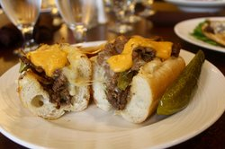 Cafe Food : Cheese Steak