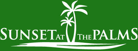 Sunset at the Palms Resort Logo