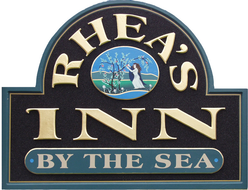 Rhea's Inn by the Sea Logo