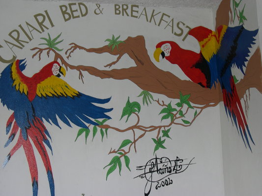 The Cariari Bed and Breakfast Logo