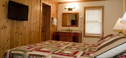 Jackson Hole Cabin Bed