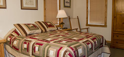 Jackson Hole Cabin Bed Room