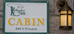 Jackson Hole Cabin Sign
